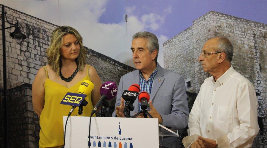 """El Ayuntamiento de Lucena rubrica el nuevo convenio de colaboración con la Asociación """"Despertar Lucena"""""""