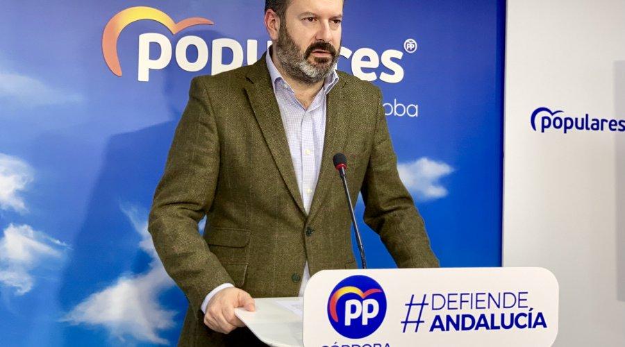 """Los populares cordobeses dicen que """"el PSOE ha mentido a todos los andaluces y ha hecho un daño enorme a nuestra tierra"""" en relación a los EREs"""