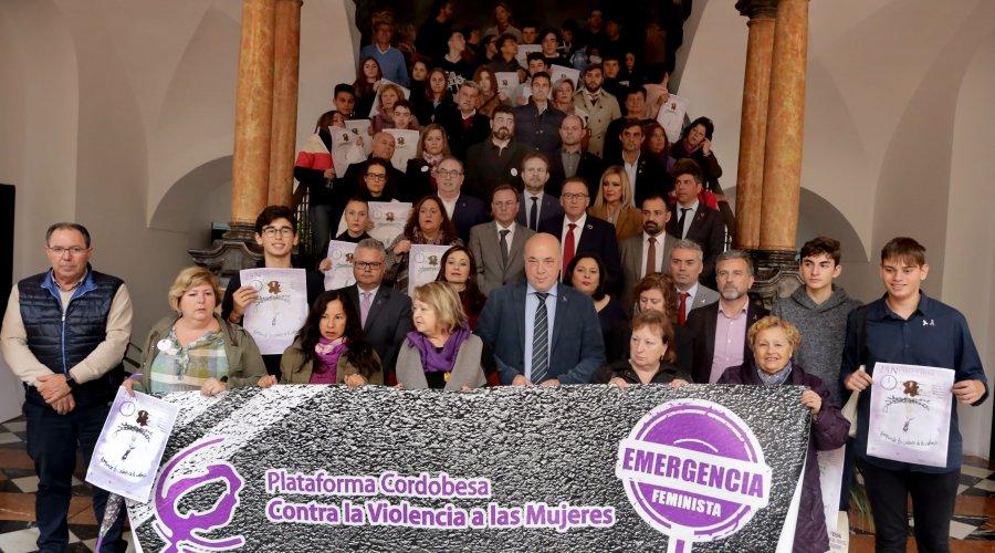 Rechazo rotundo de la Diputación de Córdoba a la Violencia contra la Mujer